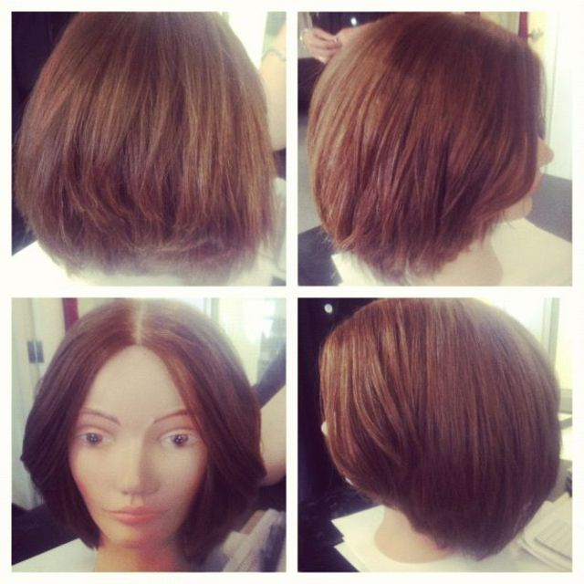 short layered cut