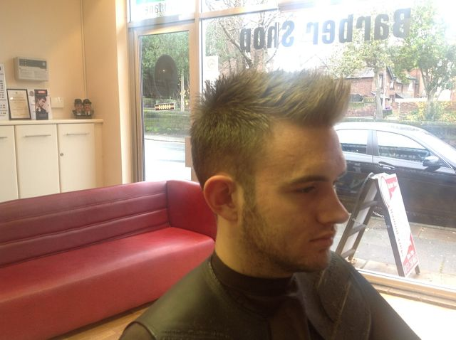 short sides, textured top with clippers only
