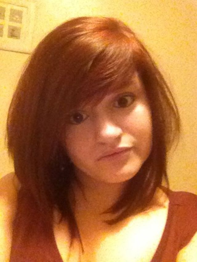 shorter red hair