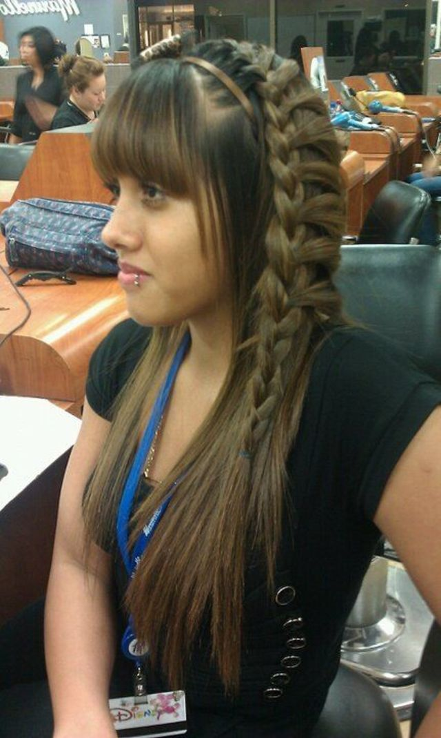 side frenchbraid