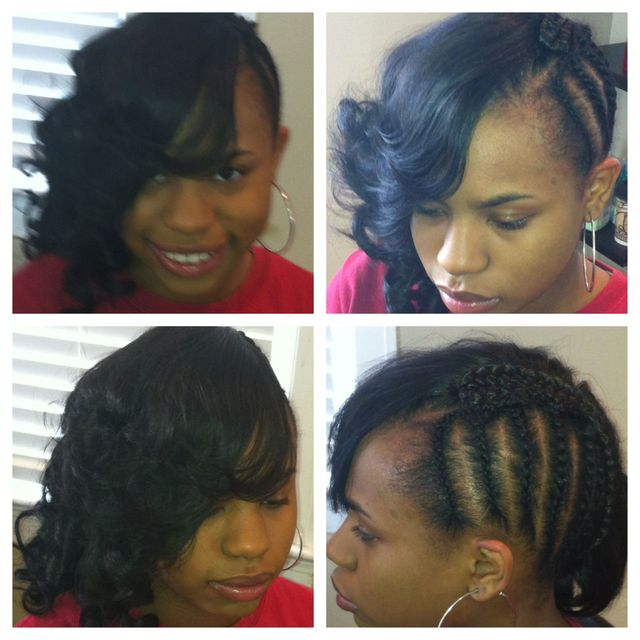 side swag sew-in