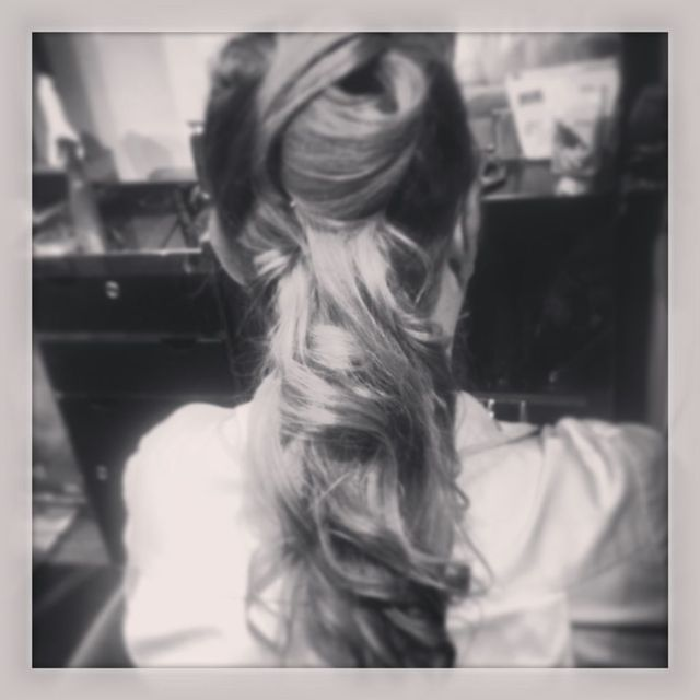 simple flowing up do