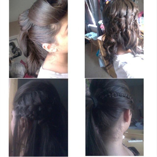 simple hairstyles!
