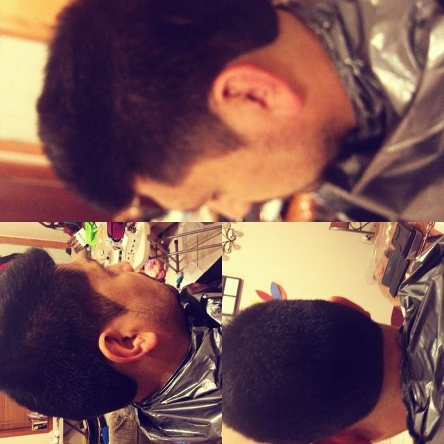 slight taper fade