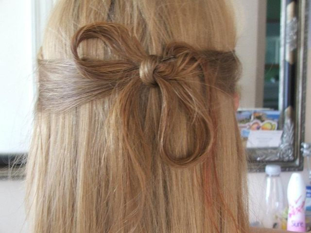 small hair bow