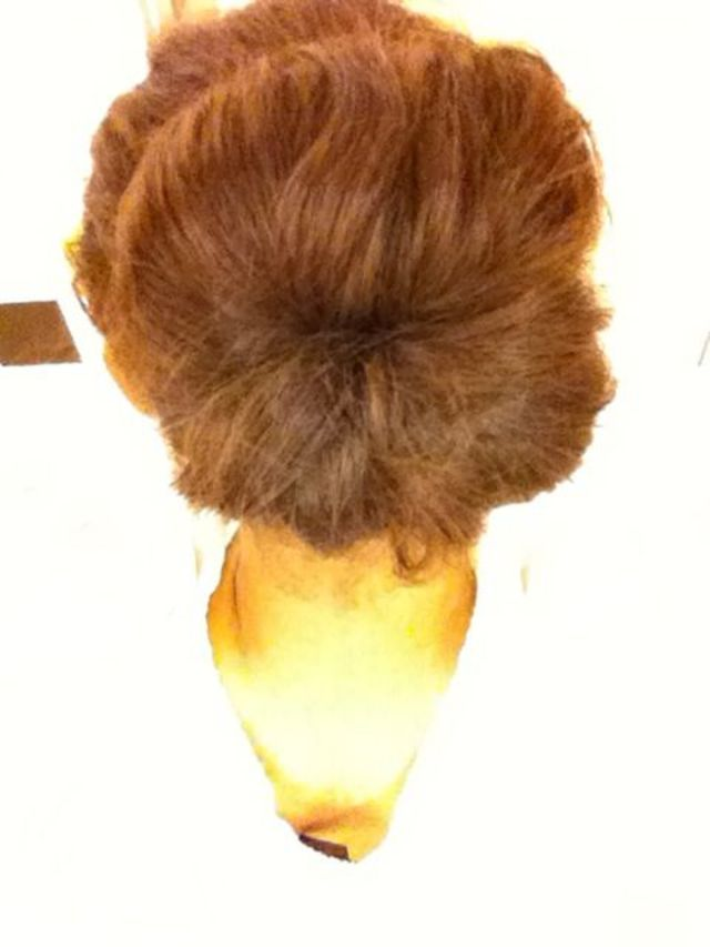 sock bun today