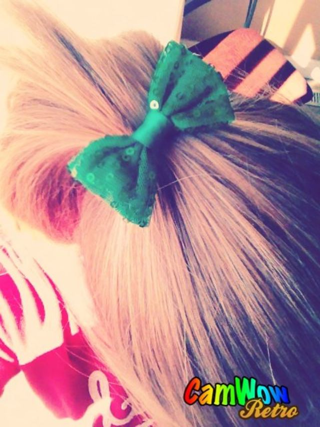 st. patties Bow