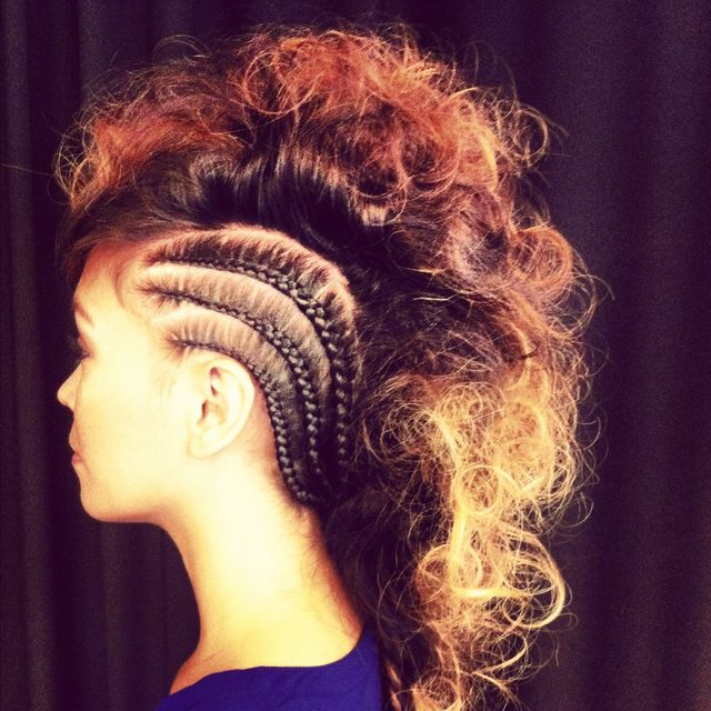 statement updo
