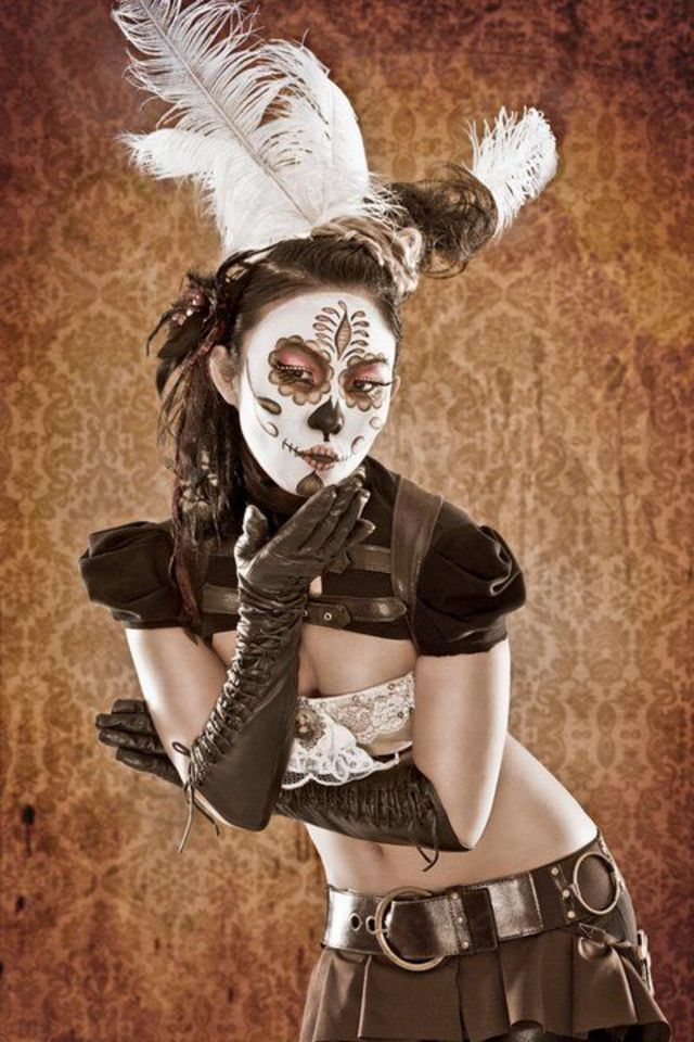 steampunk/Day of the Dead