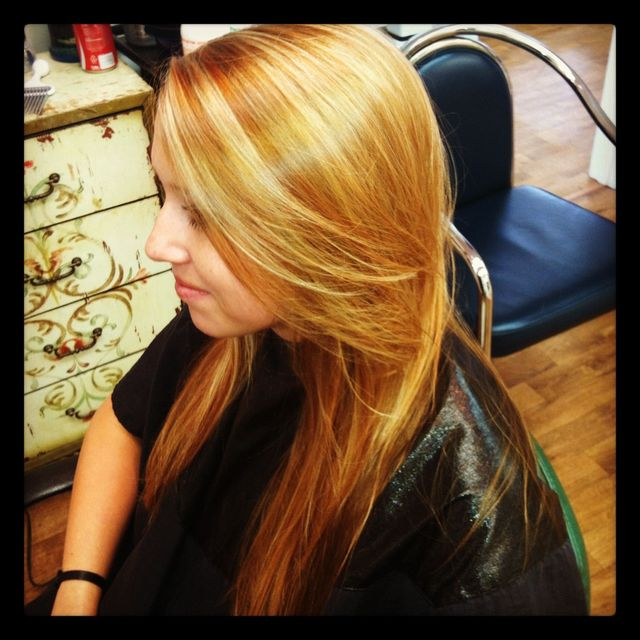 strawberry blonde color