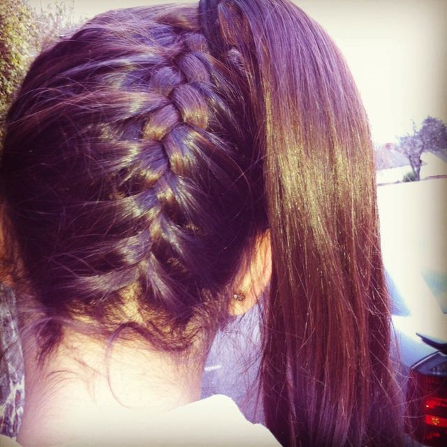 style for school hair
