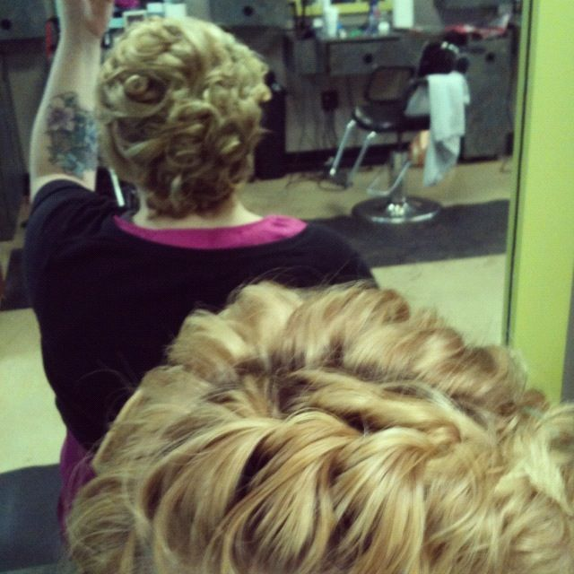 today's updo