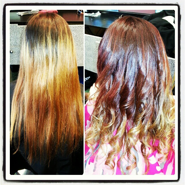 total makeover ombre!!