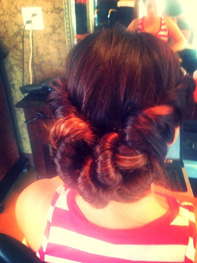 up style hair