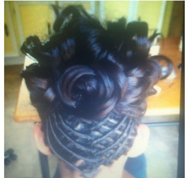 updo I did a while back
