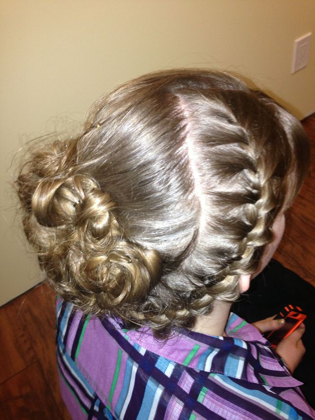 updo for semi