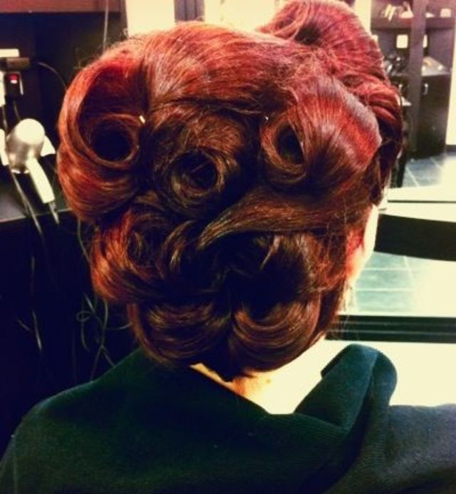 updo rockabilly