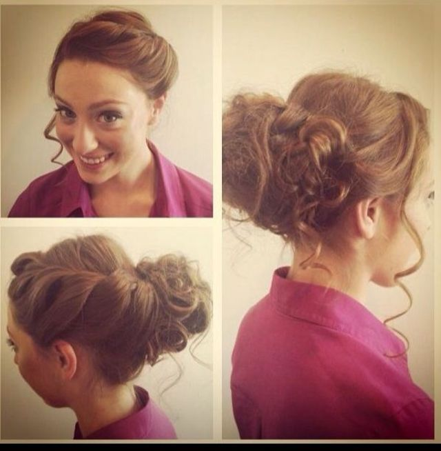 updo/braid