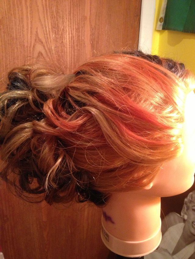 updo/color