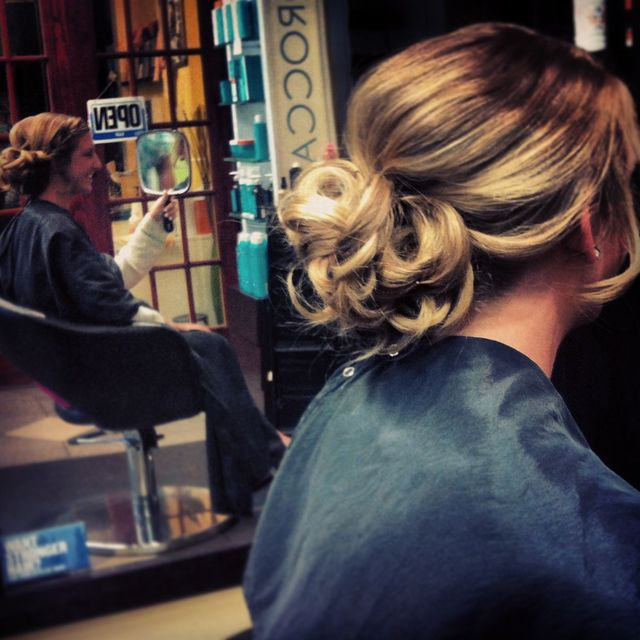 updos for spring