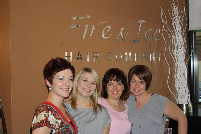 The Fire & Ice Style & Color Team!
