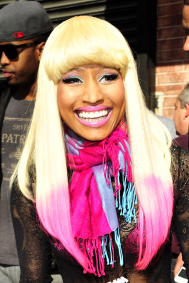Nicki Minaj seen outside Wendy Williams show in New York City