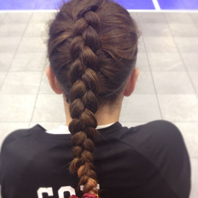 volleyball braid