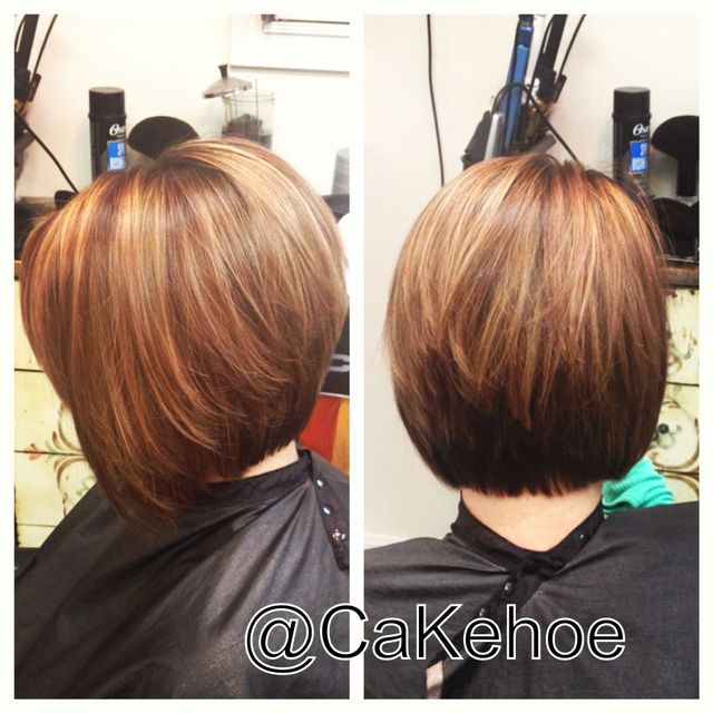 warmth for fall on asymmetrical bob