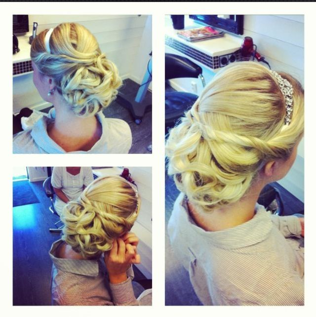wedding/bride updo