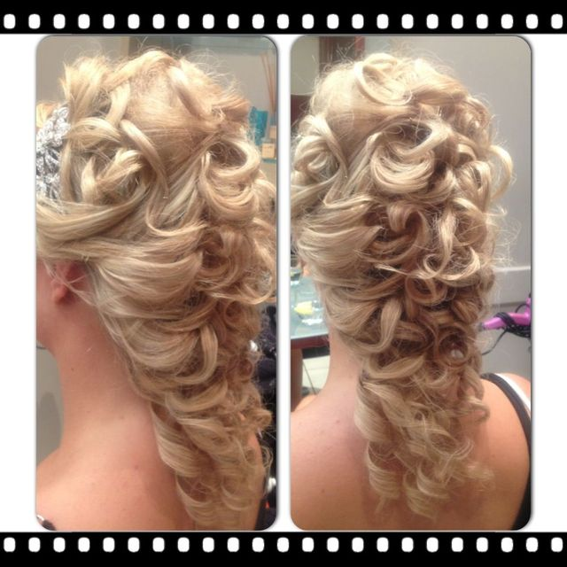 wedding/curls