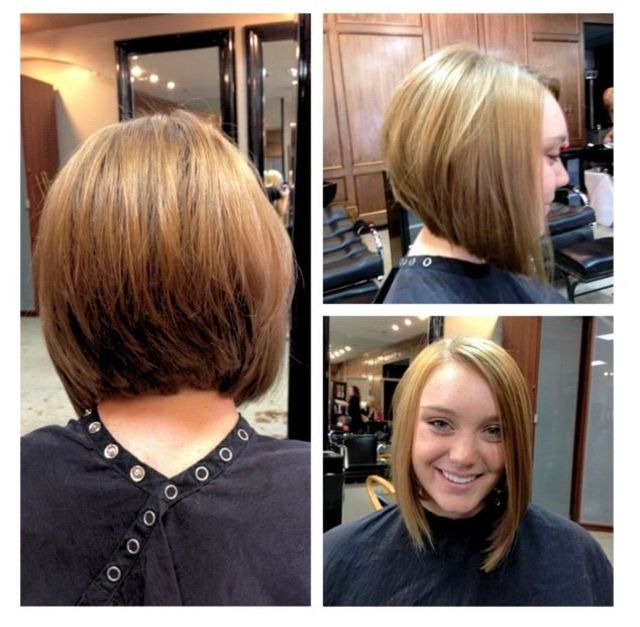 wedge cut!