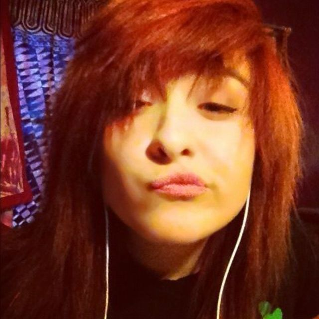 when I dyed my hair red
