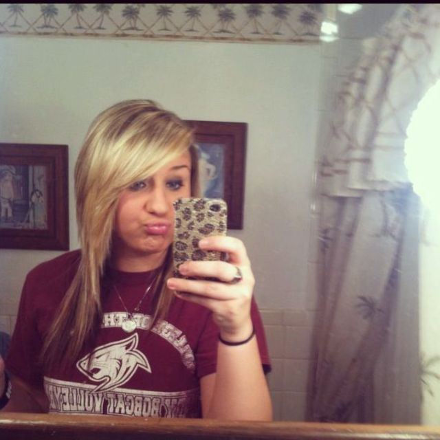 when I was blonde