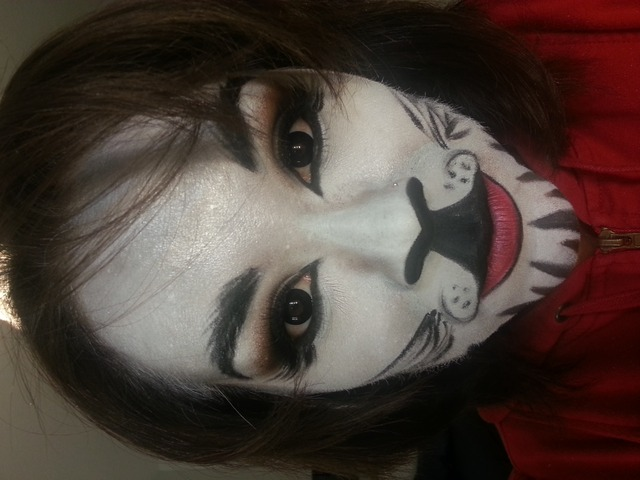 white tiger makeup