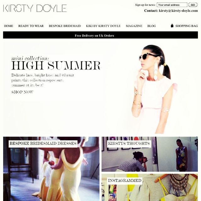 work featured on the Kirsty Doyle Website