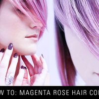 HOW-TO: Pravana & Olaplex Valentine's Magenta Rose