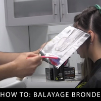 Balayage Bronde Hair Color Step by Step