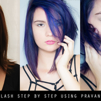 HOW-TO: Hair Color Splash Using Pravana Vivids