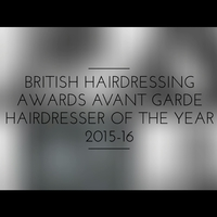British Hairdressing Awards Avant Garde Hairdresser of the Year 2015-16 Winning Collection