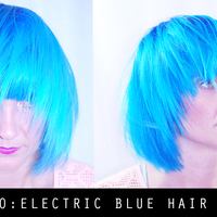 How-To Electric Blue Hair Color