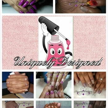 Uniquely Designed Nails